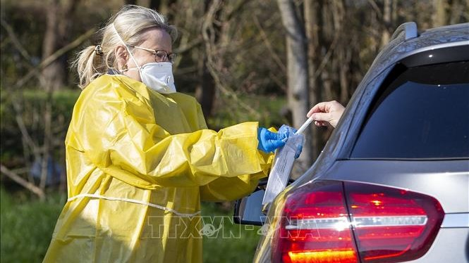 Dịch COVID-19: Đức ghi nhận trên 44.000 ca nhiễm SARS-CoV-2