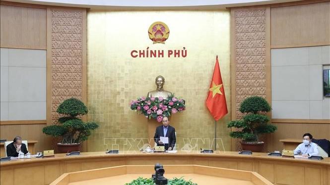 Thủ tướng Nguyễn Xuân Phúc: Xã hội chậm lại nhưng những người làm công tác phòng, chống dịch cần tăng tốc