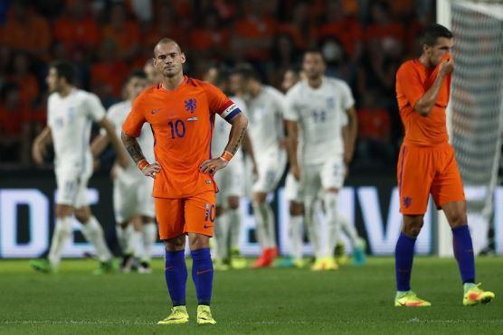 Hà Lan đứng trước nguy cơ ngồi nhà xem World Cup 2018