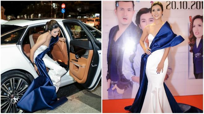 Kim Tuyến 'khoe' siêu xe 6 tỷ, nổi bật với nhan sắc 'vạn người mê'