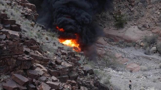 Rơi máy bay trực thăng tại Mỹ, ít nhất 7 người chết và bị thương