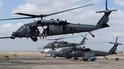 Rơi máy bay trực thăng quân sự Mỹ tại Iraq, có thể có thương vong