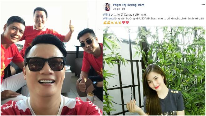 CLIP: Hoàng Bách, Bình Minh sang Indonesia cổ vũ Olympic Việt Nam; MC Thành Trung 'lỡ hẹn'