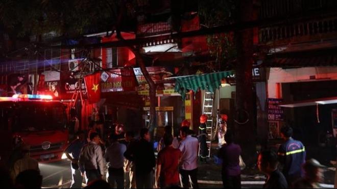Khởi tố điều tra vụ cháy làm 2 người tử vong trên đường Đê La Thành, Hà Nội