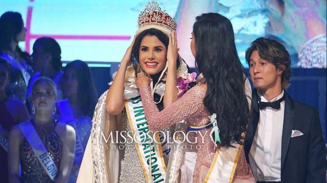 Thí sinh Venezuela đăng quang Hoa hậu Quốc tế 2018