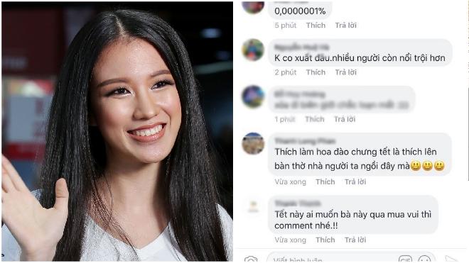 'Rủa' người đẹp Tuyết Trang Hoa hậu Hoàn vũ Việt Nam 'lên bàn thờ': Cư dân mạng thể hiện điều gì?