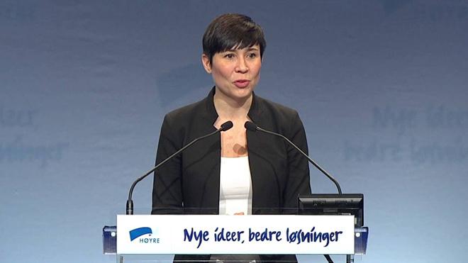 Na Uy lần đầu tiên có nữ Ngoại trưởng