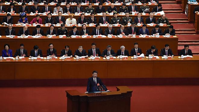 Ông Tập Cận Bình tiếp tục được bầu làm Tổng Bí thư Đảng Cộng sản Trung Quốc khóa XIX