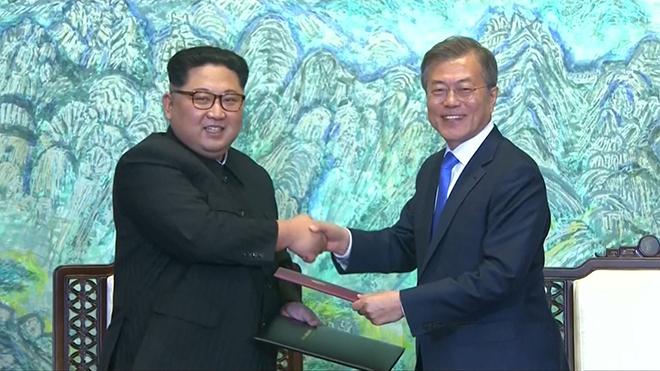 VIDEO: Trong tuần này, hai miền Triều Tiên lại tổ chức họp cấp cao