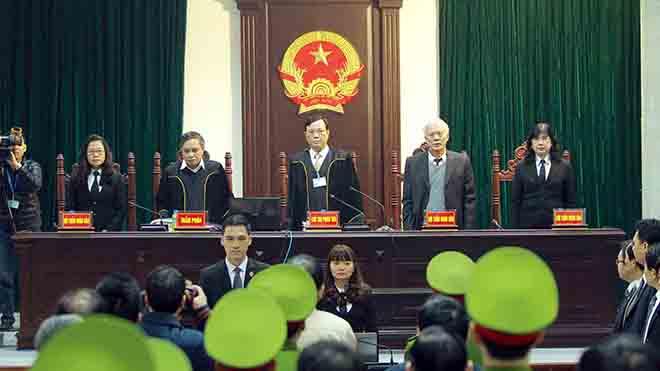 Ngày 19/3, Đinh La Thăng tiếp tục hầu tòa, 20 luật sư đăng ký bào chữa cho các bị cáo