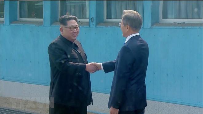 Hội nghị thượng đỉnh liên Triều: Toàn văn 'Tuyên bố chung Panmunjom' giữa hai miền Triều Tiên