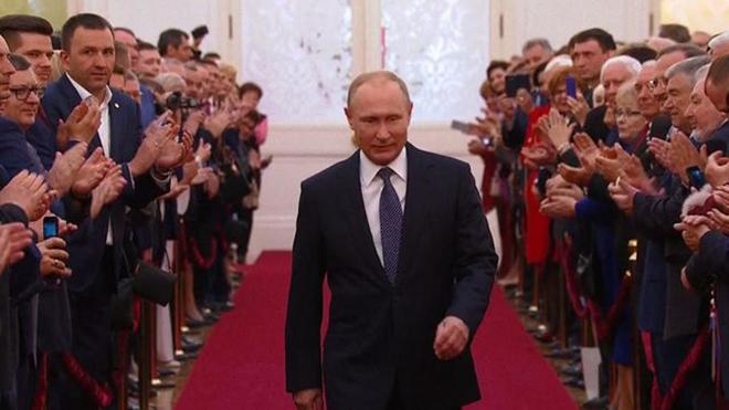 Hình ảnh ấn tượng trong lễ nhậm chức của Tổng thống Putin