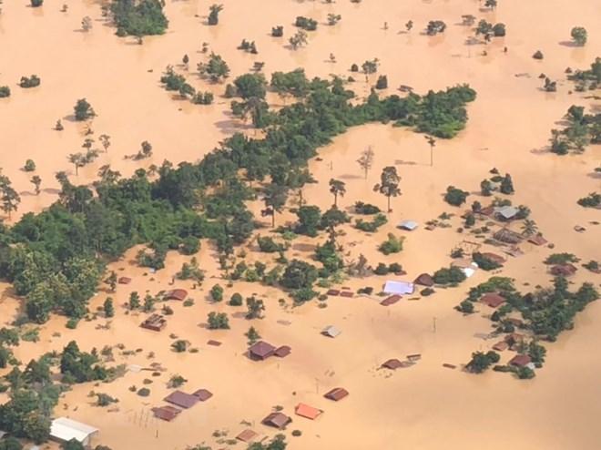 Vỡ đập thủy điện tại lào, Vỡ đập thủy điện, vỡ đập ở Lào, đập thủy điện Lào, vỡ đập thủy điện ở Lào, thủy điện, Lào, Thủy điện Lào, đập thủy điện, Attapeu, thủy điện Sepien Senamnoi