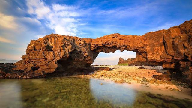 Đổi tên 'Công viên địa chất Lý Sơn' thành 'Công viên địa chất Lý Sơn-Sa Huỳnh', trình UNESCO vào 11/2019