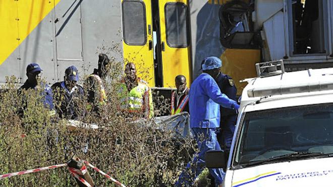 Va chạm tàu hỏa tại Nam Phi khiến 300 hành khách bị thương