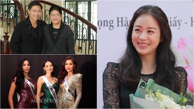 Showbiz 'hot' trong ngày: Kim Tae Hee đến Việt Nam, Minh Tú được dự đoán đăng quang Miss Supranational 2018