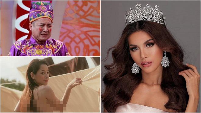 Showbiz 'hot' trong ngày: BTC Hoa hậu Siêu quốc gia liên tục nhận tin nhắn tố Minh Tú mua giải
