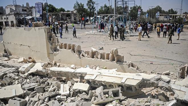 Thương vong trong vụ đánh bom tại thủ đô Somalia tăng cao