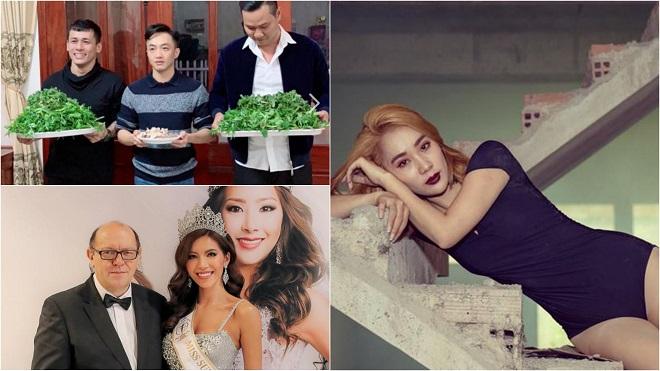 Showbiz 'hot' trong ngày: Phạm Lịch xin lỗi vợ Phạm Anh Khoa, Cường Đô La bê tráp tới nhà Đàm Thu Trang xin cưới?