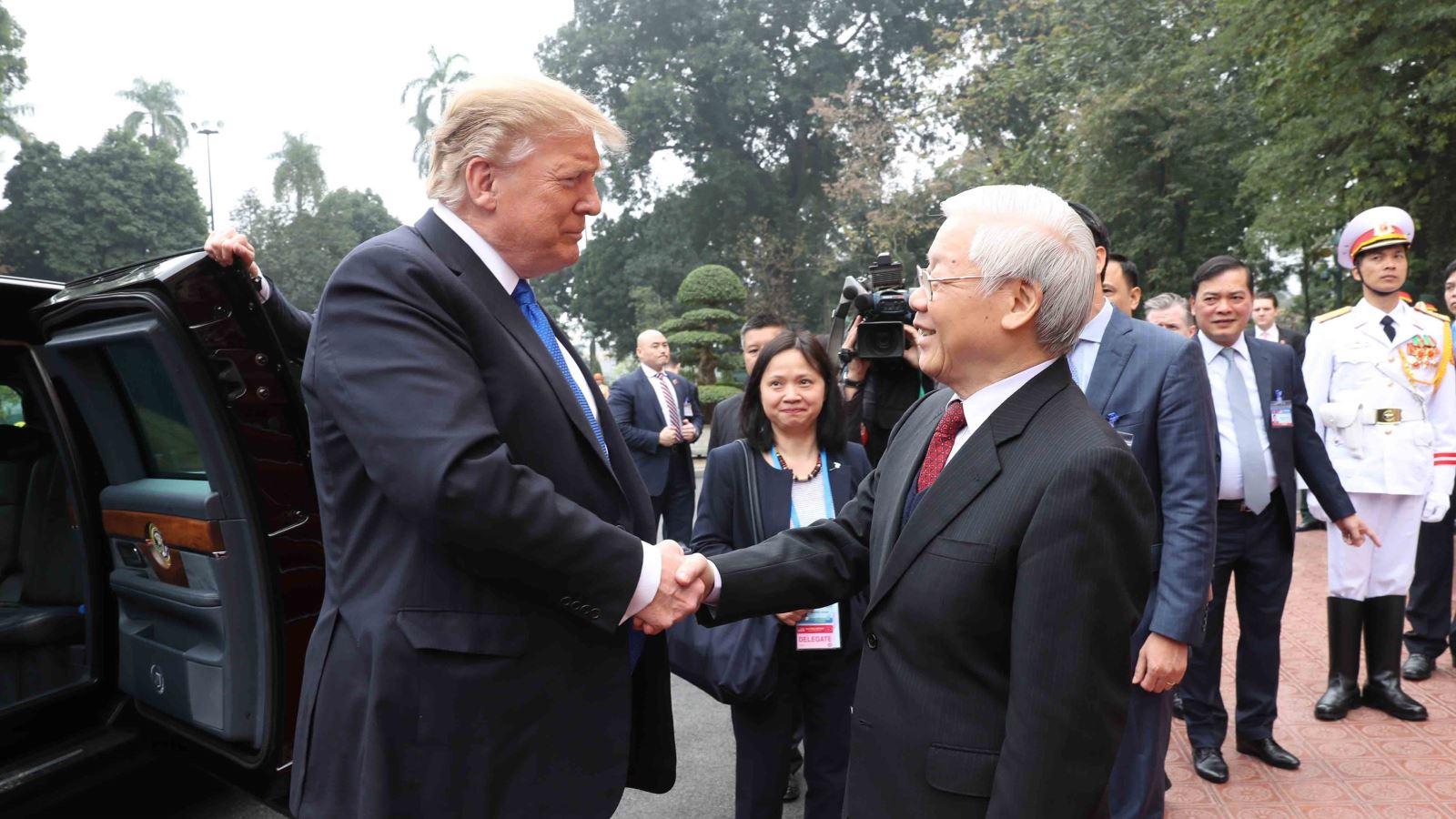 Tổng thống Mỹ Donald Trump: 'Việt Nam là một trong số ít các nơi trên Trái Đất đang phát triển thịnh vượng'