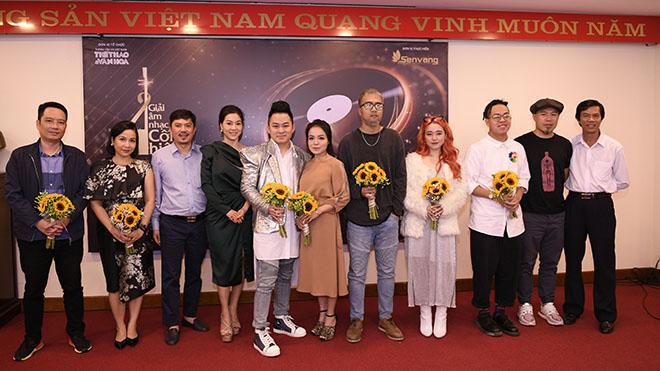Chùm ảnh: Các nghệ sĩ, nhà báo dự lễ công bố đề cử Giải Âm nhạc Cống hiến lần 14-2019