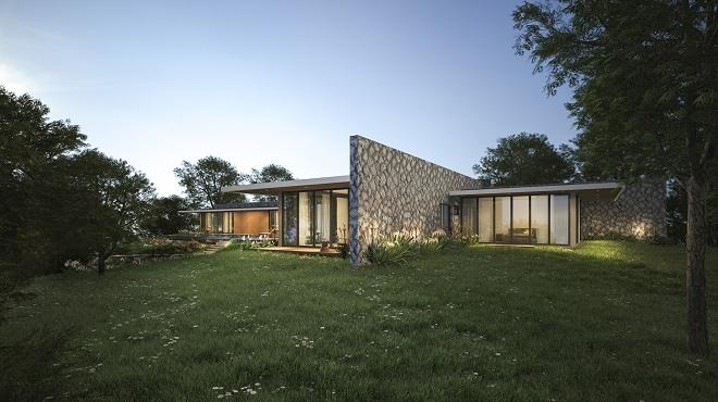 Triển lãm kiến trúc lấy cảm hứng từ dòng chảy của sông Hồng