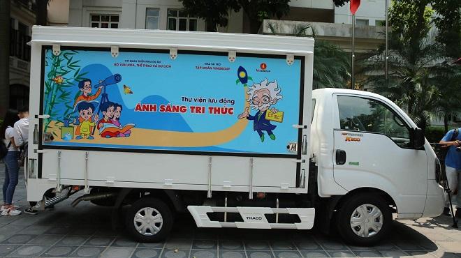 Trao tặng 31 xe ô tô thư viện lưu động đa phương tiện cho các thư viện tỉnh, thành