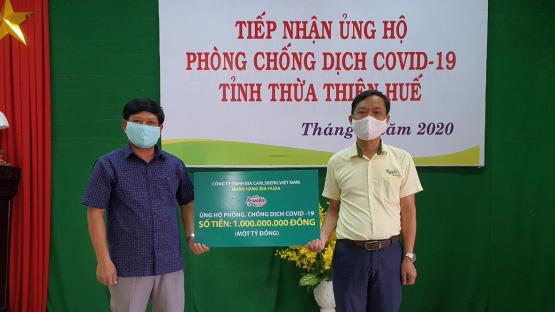 Carlsberg Việt Nam ủng hộ 2 tỉ đồng cho các tỉnh miền Trung phòng chống dịchCOVID-19 nhân dịp ra mắt Bia Festival