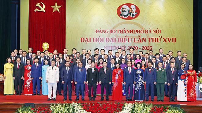 Toàn văn bài diễn văn bế mạc Đại hội đại biểu lần thứ XVII Đảng bộ thành phố Hà Nội của Bí thư Thành ủy Vương Đình Huệ