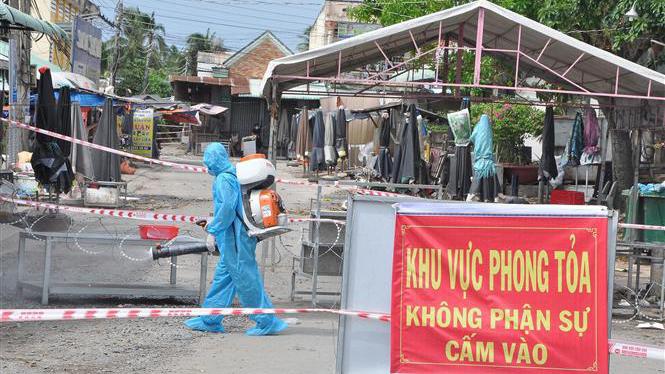 Tiền Giang: Phong tỏa thêm xã Mỹ Hạnh Đông để phòng, chống dịch Covid-19