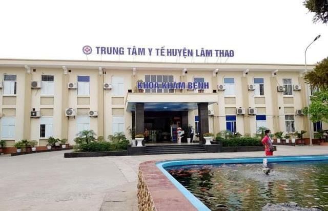 Phú Thọ phong tỏa Trung tâm Y tế huyện Lâm Thao sau khi có các ca dương tính
