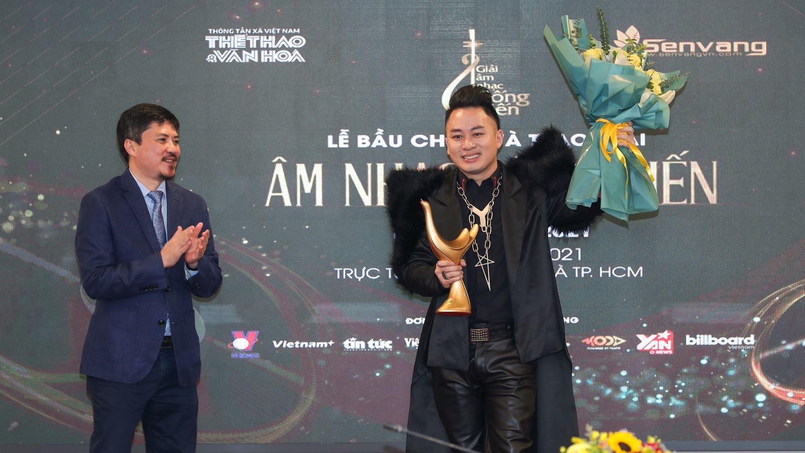 Kết quả giải âm nhạc Cống hiến lần thứ 16: Tùng Dương giành hattrick, lập kỷ lục khủng