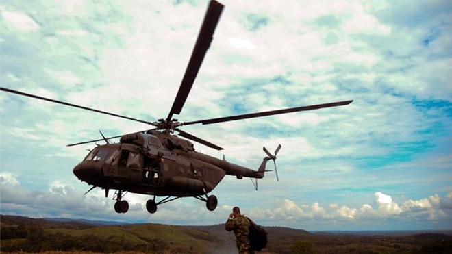 Rơi máy bay quân sự Mi-17 làm ít nhất 7 người thiệt mạng