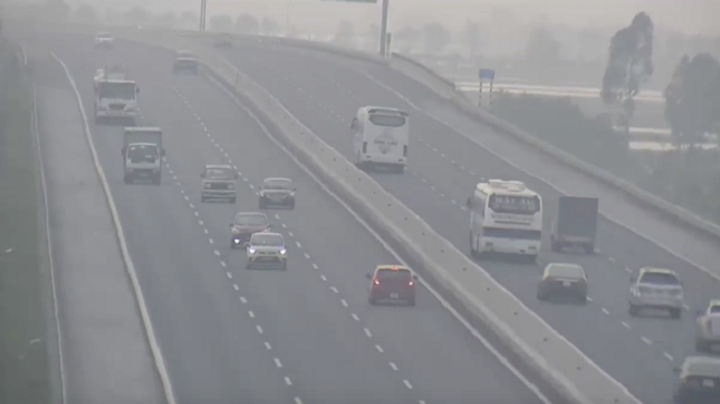 Phạt 7,5 triệu đồng nữ tài xế đi ngược chiều cao tốc Hà Nội-Hải Phòng