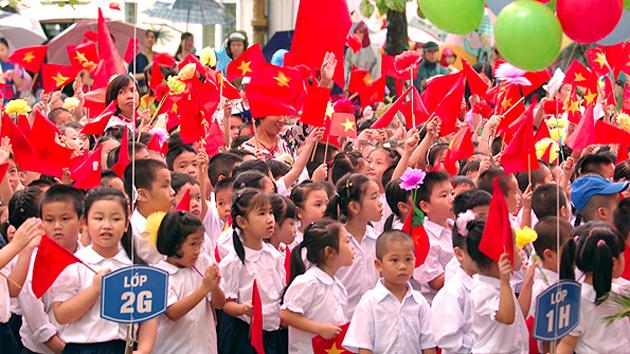Hơn 23 triệu học sinh, sinh viên khai giảng năm học mới 2018-2019