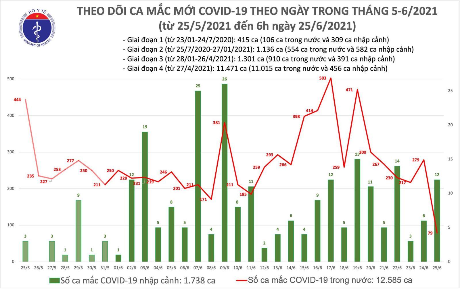 Dịch Covid-19, Covid-19 mới nhất, Ca nhiễm covid mới, Covid mới nhất ngày 25/6, covid hôm nay, covid ở TP HCM, số ca nhiễm, số ca dương tính, tình hình dịch bệnh