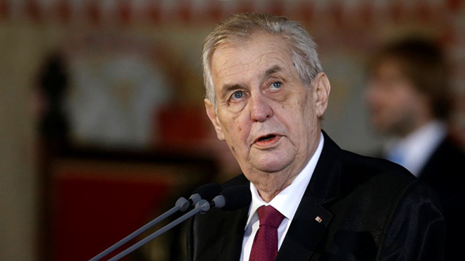 Tổng thống CH Séc thừa nhận nước này có sản xuất chất độc thần kinh Novichok