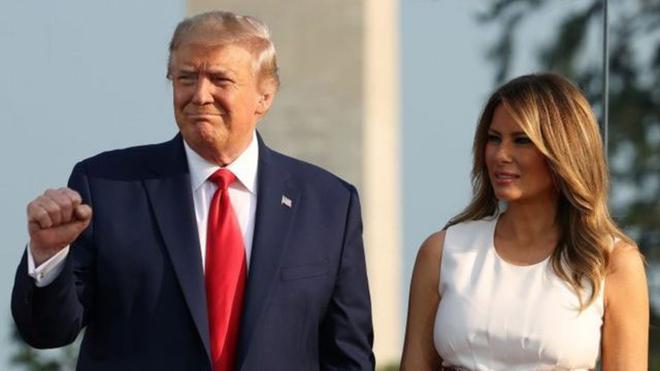 Tổng thống Mỹ Donald Trump và phu nhân nhiễm virus SARS-CoV-2