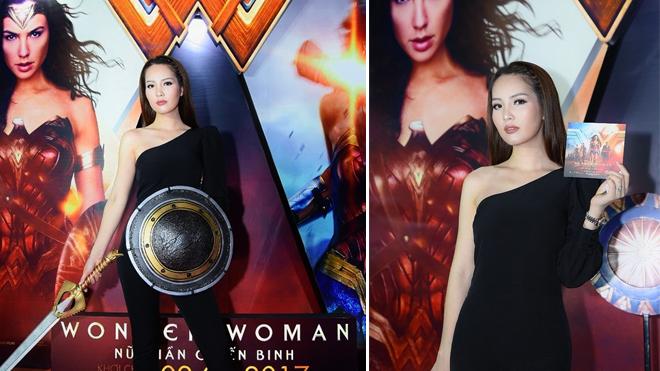 Á hậu Thụy Vân thử vai: Wonder Woman - Nữ thần chiến binh