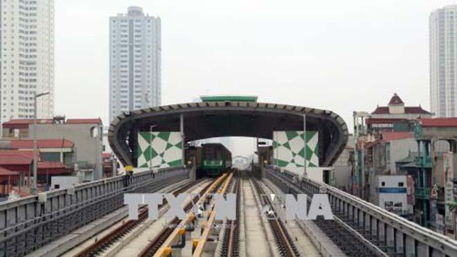 2/9 vận hành thử dự án Đường sắt đô thị Cát Linh - Hà Đông