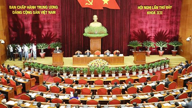 Khai mạc Hội nghị lần thứ bảy, Ban Chấp hành Trung ương Đảng khóa XII