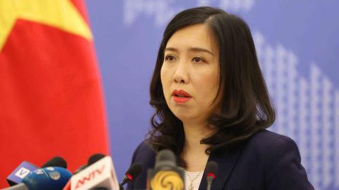 Việt Nam kiên quyết phản đối Trung Quốc diễn tập bắn đạn thật ở Trường Sa