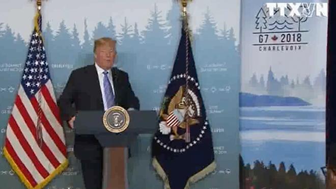 Tổng thống Trump: 'Cuộc gặp thượng đỉnh Mỹ - Triều là cơ hội có một không hai'