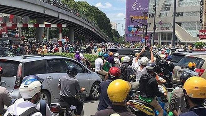 Khởi tố các đối tượng gây rối trật tự tại TP Hồ Chí Minh