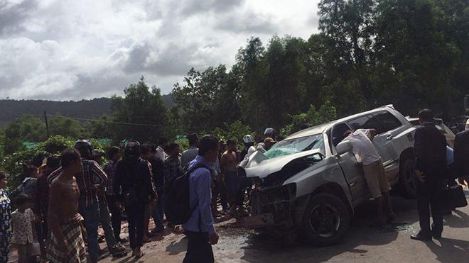 Hoàng thân Campuchia bị tai nạn giao thông nghiêm trọng, vợ Hoàng thân tử vong