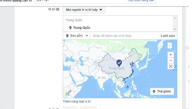 Yêu cầu Facebook xử lý việc xác định sai lệch bản đồ quần đảo Trường Sa, Hoàng Sa