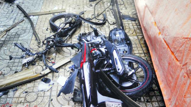 Khởi tố, bắt tạm giam 7 đối tượng khủng bố, đặt bom trụ sở công an