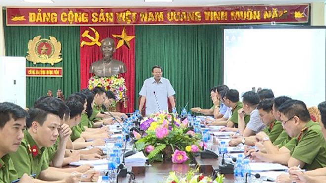 Thứ trưởng Bộ Công an Lê Quý Vương chỉ đạo điều tra, truy tìm hung thủ sát hại 2 vợ chồng ở thành phố Hưng Yên