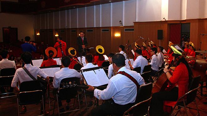 Nhạc viện TP.HCM tôn vinh âm nhạc truyền thống