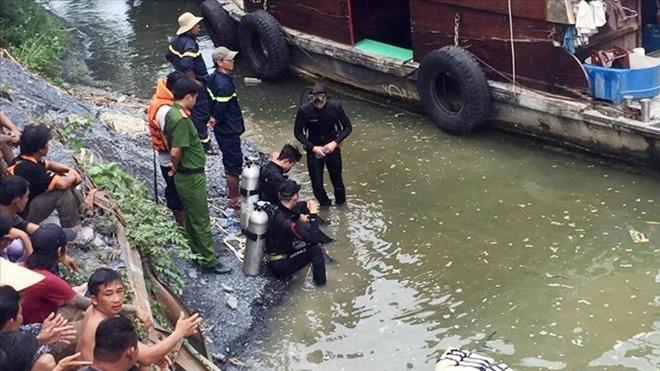 Tìm thấy thi thể hai học sinh đuối nước khi tắm sông tại Bình Dương